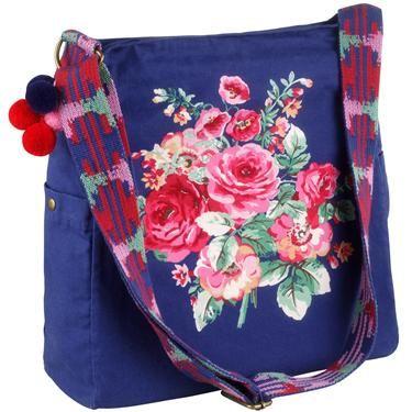 Cath Kidston bag. Oooooh, pretty!