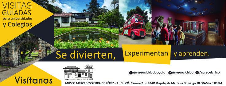 Visitas guiadas para Universidades y Colegios, se divierte, experimentan y aprenden. ¡visítanos! #universidades #colegios #diversión #experiencia #aprendizaje   Facebook: https://www.facebook.com/museoelchicobogota/ Instragram: https://www.instagram.com/museoelchico/ Twitter: https://twitter.com/museoelchico