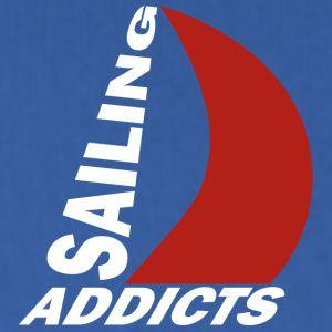 hodie white logo Sailing Addicts TM