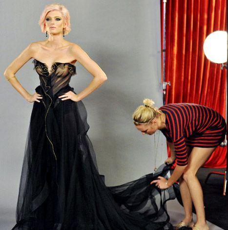 Sophie Sumner Wins America's Next Top Model: British Invasion! - Her dress was stunning.