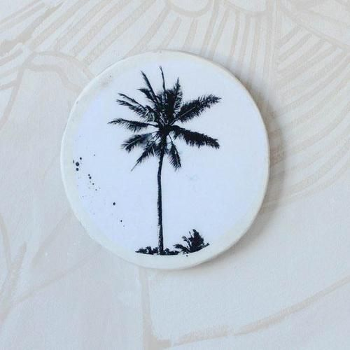Single Palm Mini Porthole