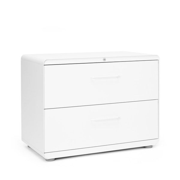 White Stow 2 Drawer Lateral File Cabinet File Cabinets Storage Poppin Filing Cabinet Lateral File Cabinet Office Furniture Modern