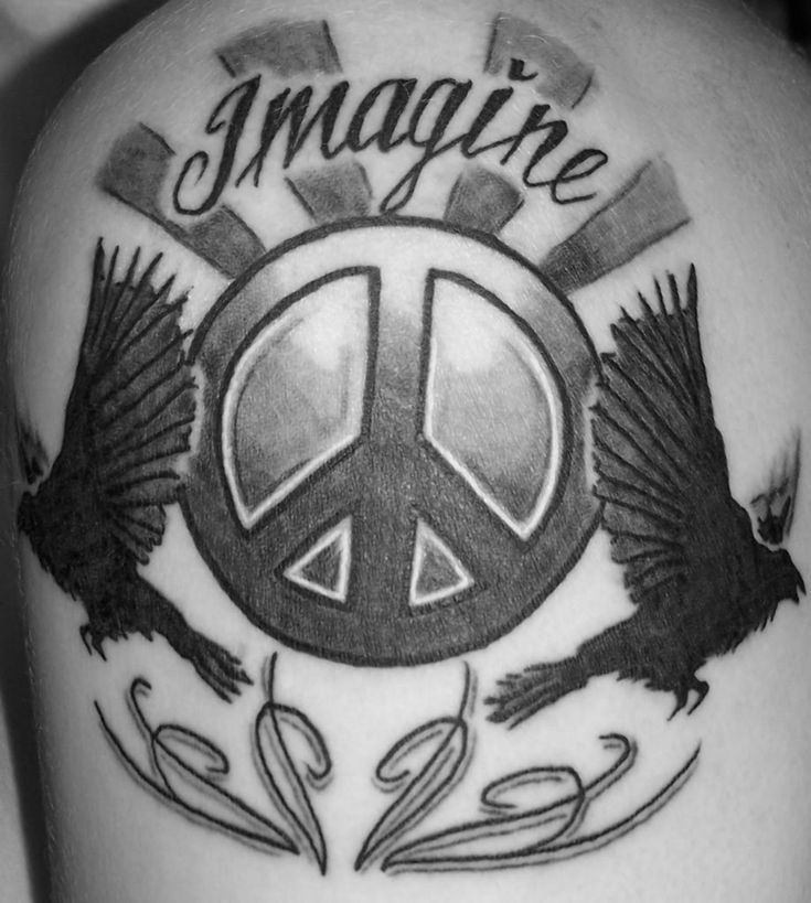 70 Peace Sign Tattoos For Men: 52 Best Peace Sign Tattoos Images On Pinterest