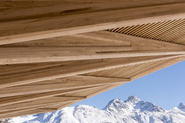 Eispavillon by Foster + Partners in St Moritz, France