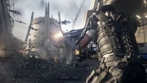 Scene from the best-selling first person shooter game #Advancedwarfare #PCgaming