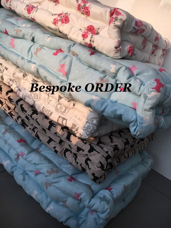 RESERVED FOR URSULA Handmade Quilted Cushion mattress,Tufted cushion, Futon cushion, Knotting pillow quilt, French cushion mattress, pet cus