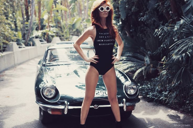 #houseofstyle | Cintia Dicker is your next James Bond girl in Wildfox Swimwear.: Wildfox Couture, Wildfox Swimming, Classic Cars, Bond Girls, Vintage Cars, Ads Campaigns, Fashion Photography, Cintia Dicker, American Girls