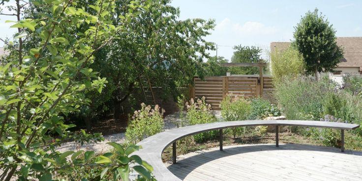 Entre deux forets jardin en normandie celine bertin for Amenagement jardin foret