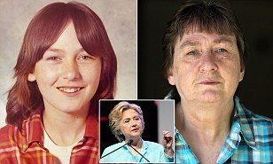 EXCLUSIVE: Child rape victim comes forward for the first time in 40 years to call Hillary Clinton a 'liar' who defended her rapist by smearing her, blocking evidence and callously laughing that she knew he was guilty