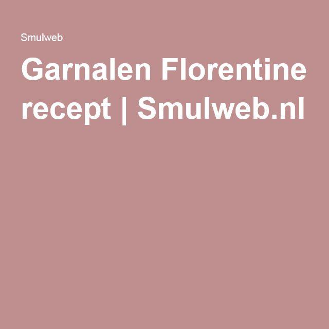 Garnalen Florentine recept | Smulweb.nl