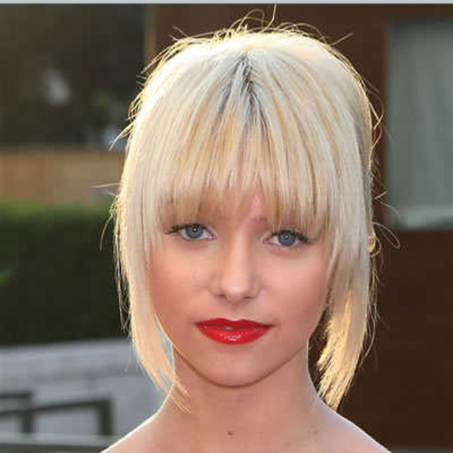 on trend hair styles 16 best bad bangs images on fringes hair dos 5616