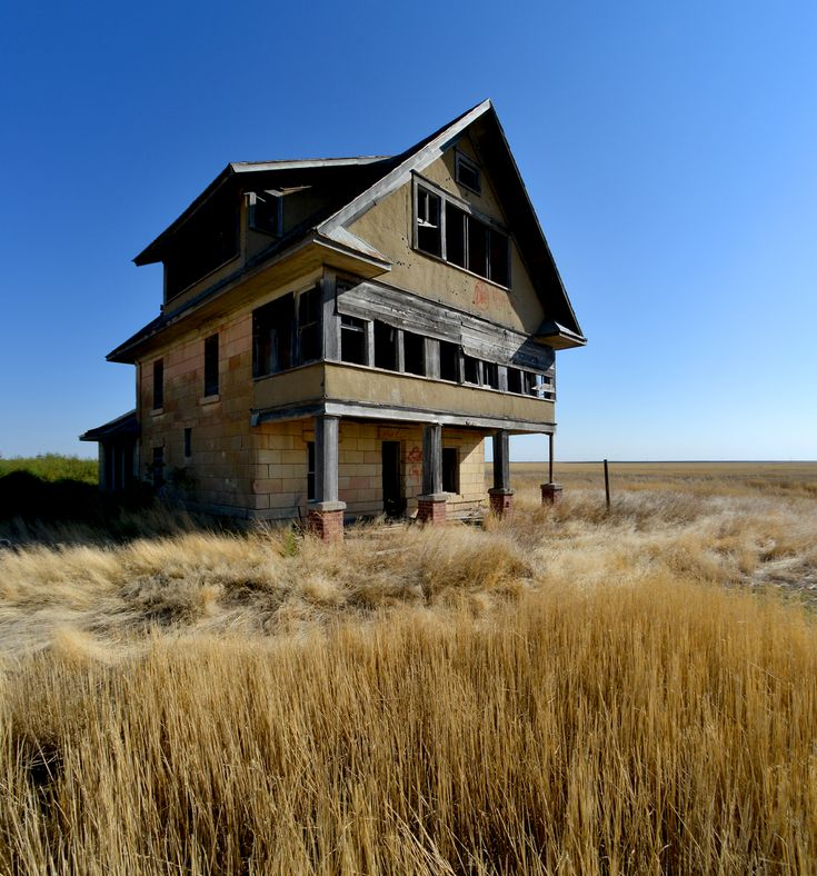 Ranch House In Logan County Kansas Abandoned Places In
