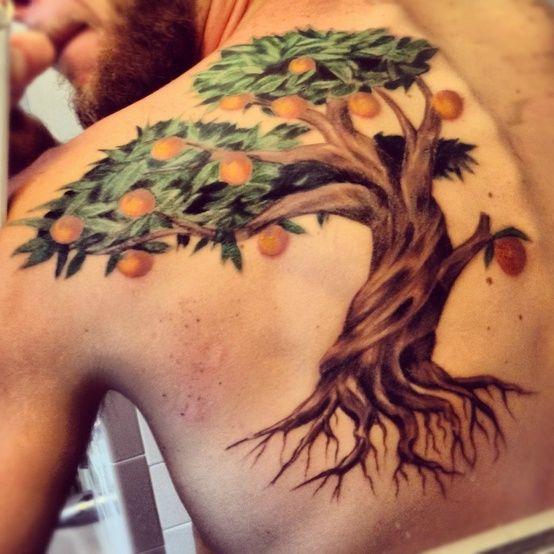 51 best tattoo ideas images on pinterest arm tattoo for Peach tree designs
