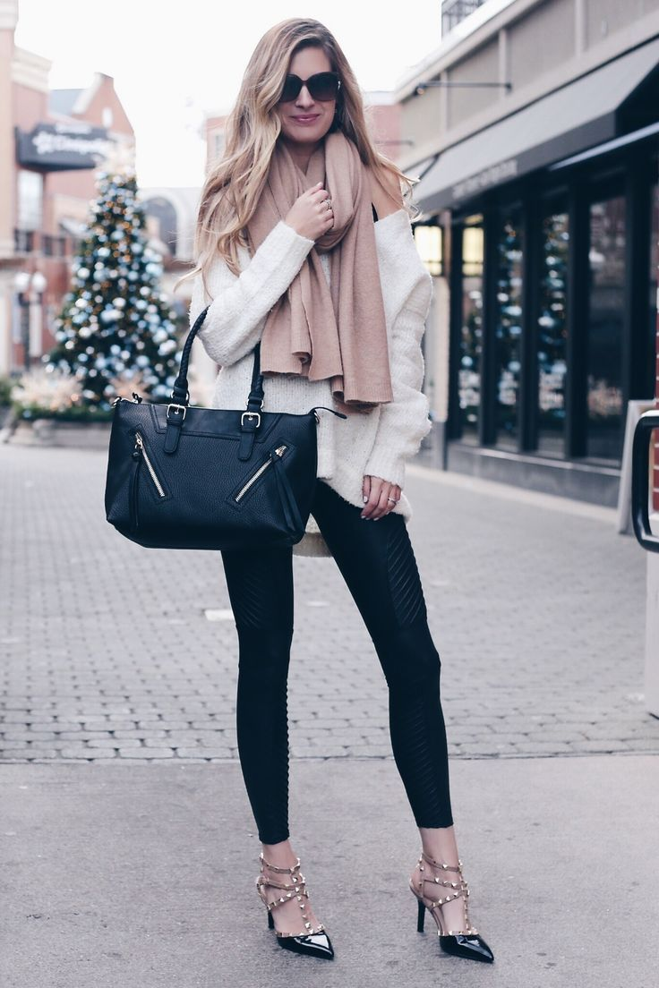 f2c55d3b3ae Holiday Outfits with Leggings - How To look Stylish in Your Food Pants