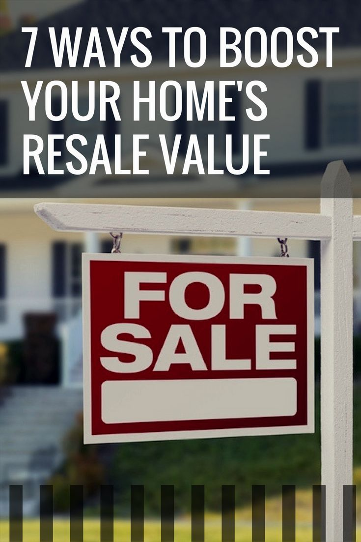Real estate insiders know what it takes to get the most money for your house when you put it up for sale. It's not necessarily the big projects that affect home resale value, but a combination of little improvements that add up to you getting the best selling price for your home. These 7 real estate selling tips are guaranteed to increase your home's resale value.
