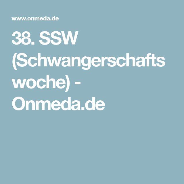 38. SSW (Schwangerschaftswoche) - Onmeda.de