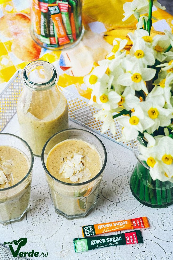 Gust Verde: Lucky smoothie nr.7 (banana, mar, iaurt, chia)