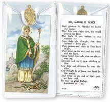 Prayer Card with Medal - St. Patrick.