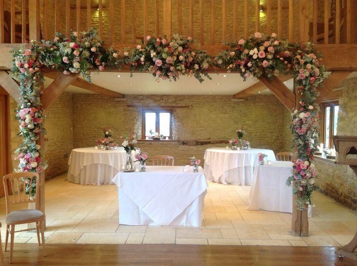 Kingscote Barn, roses, pink, flowers, Sorori, Lauren Grey