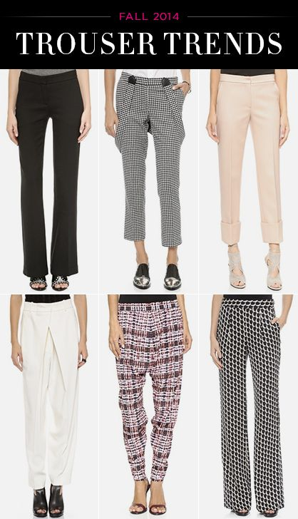 Trends in Trousers 2014: What to Wear Now
