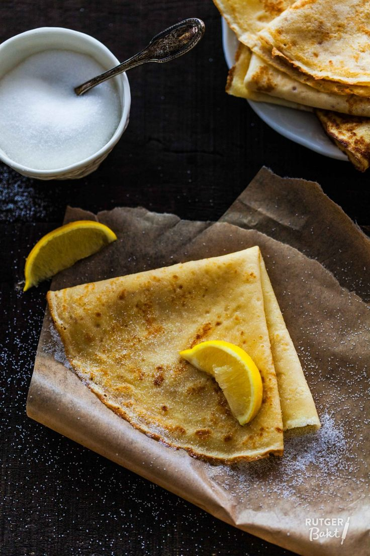 crêpes - recept