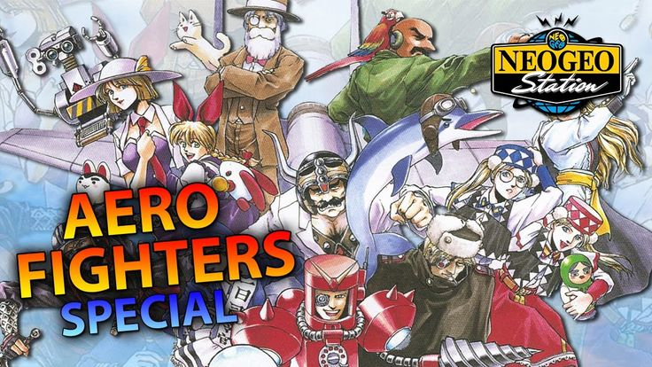 Aero Fighters Special|Video System SNK|Walkthrough Longplay HD