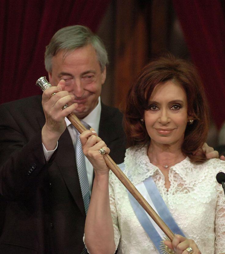 Argentina: Néstor y Cristina Kirchner, 10 de diciembre de 20007 / Fuente: Casa Rosada.
