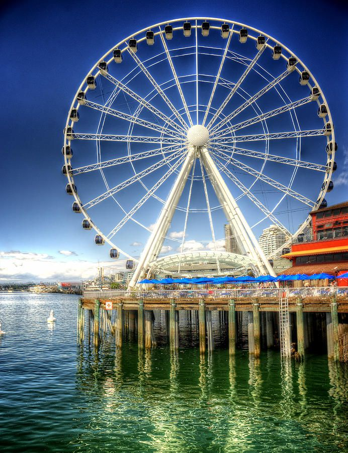 One of the newest attractions | Seattle Great Wheel