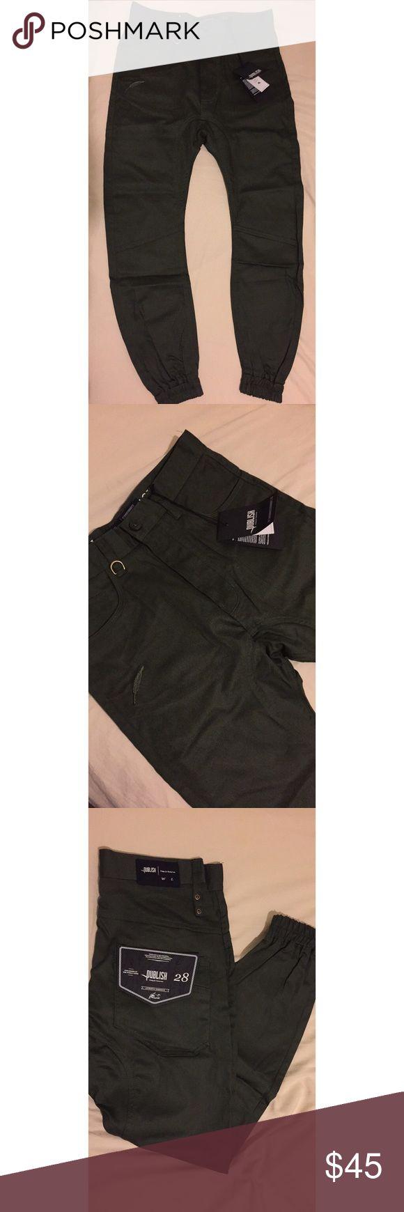 "Publish Brand ""Kelson"" Jogger Pants for Men's Brand New Publish Brand ""Kelson"" Jogger Pants for Men's size 28 - Olive Green Publish Pants Sweatpants & Joggers"