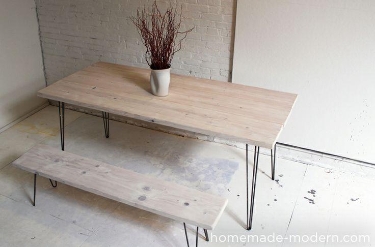 die 25 besten selbstgemachte tischbeine ideen auf pinterest diy esstisch selbstgemachter. Black Bedroom Furniture Sets. Home Design Ideas