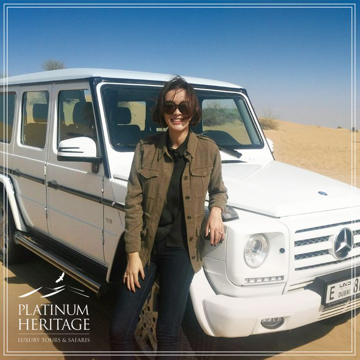 "Ailee, dubbed the ""Korean Beyoncé"", enjoyed our Platinum Heritage Wildlife spotting in the legendary Mercedes G Wagon. What do you think she discovered? #PlatinumHeritage"