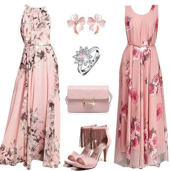 Trajes rosados