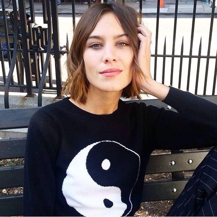 chung club @kara0622 Look! Alexa is wearing a Yin-Yang jumper!! We should get one :-)