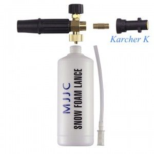 This MJJC foam cannon is not like any other cheap foam guns or foam makers. http://www.carcaretools.com/karcher-k-series