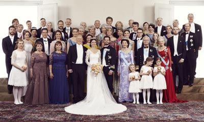 Las fotografías oficiales de la boda de Carlos Felipe y Sofia de Suecia