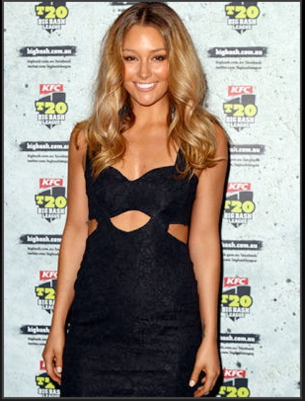 Erin McNaught spotted wearing NOOKIE