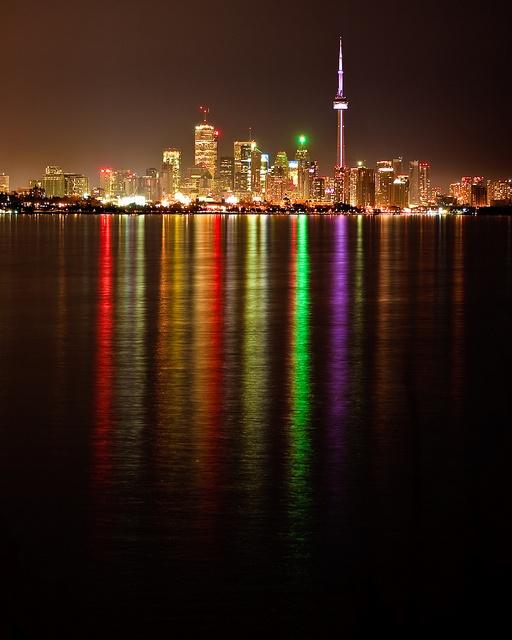 Toronto by Night by DarkElfPhoto, via Flickr