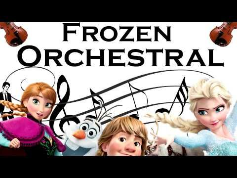 Let It Go - Frozen Medley - Orchestral - (Without Melody)