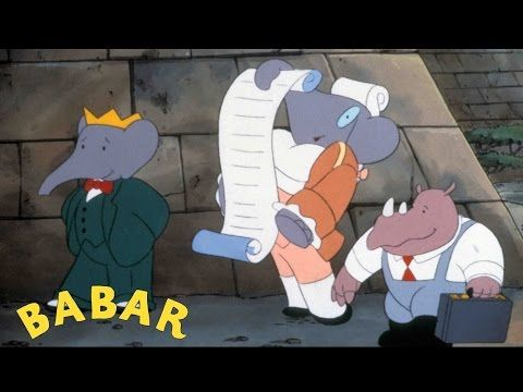 BABAR - EP15 - La rentrée des classes - YouTube