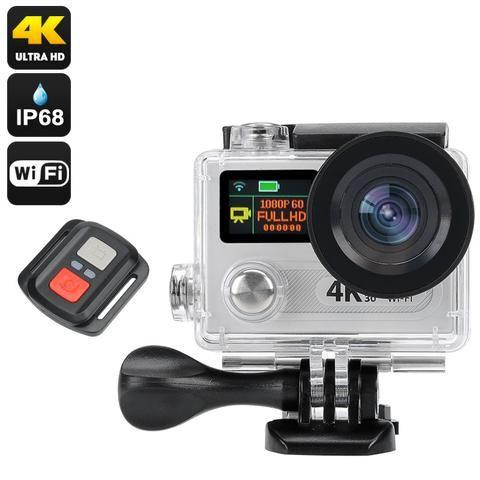 4K Ultra HD Action Wifi Camera - Electromann SA