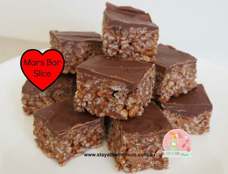 Mars Bar Slice Recipe | Stay at Home Mum