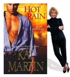 Kat Martin / Review, Kat Martin's Hot Rain #romance novel