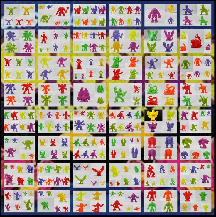 Monster in my Pocket - Series 1 - Figure MIMP Matchbox MEG OG NG NR NP NY R Y P