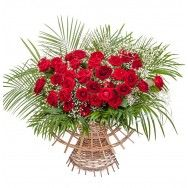 Buchet de trandafiri de Sfantul Valentin - http://www.floricudrag.ro/aranjamente/35-flori-de-valentine-s-day.html