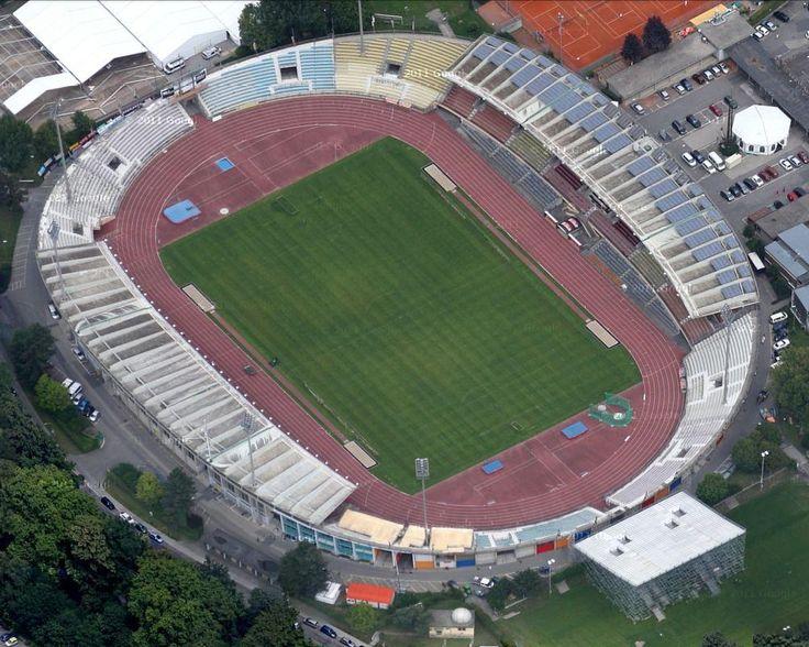 171 besten stadiums bilder auf pinterest fu ballstadien for Lausanner fussballstadion