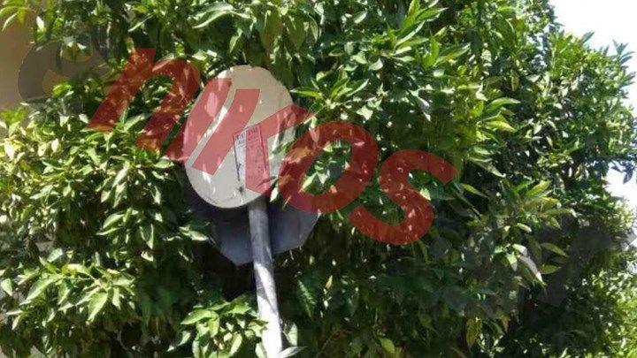 Η... αόρατη πινακίδα που είναι κίνδυνος - θάνατος για τους οδηγούς - ΦΩΤΟ