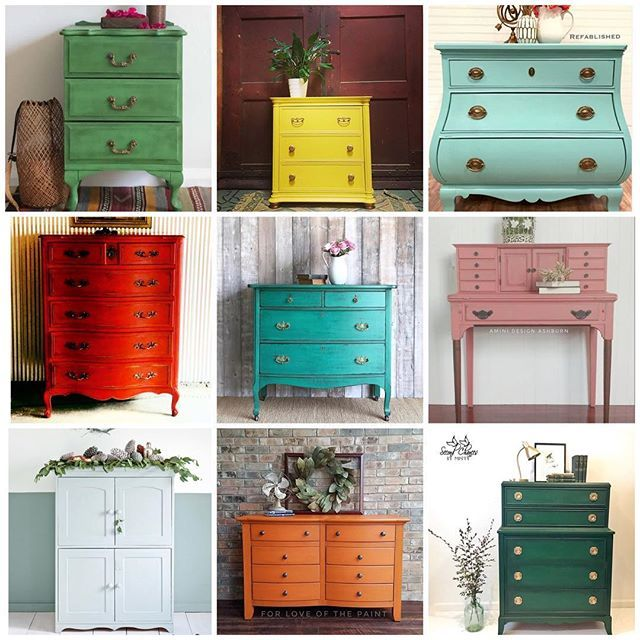 Inspiration For Your Home Annie Sloan Painted Furniture Makeover Diy