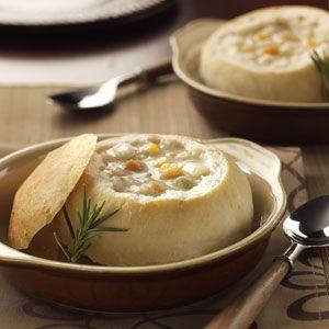 Bread bowls http://www.tasteofhome.com/Recipes/Bread-Bowls-2