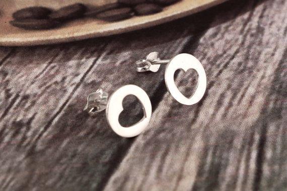 Handmade Silver Girl's Stud EarringsWomen's by AdornmixJewels