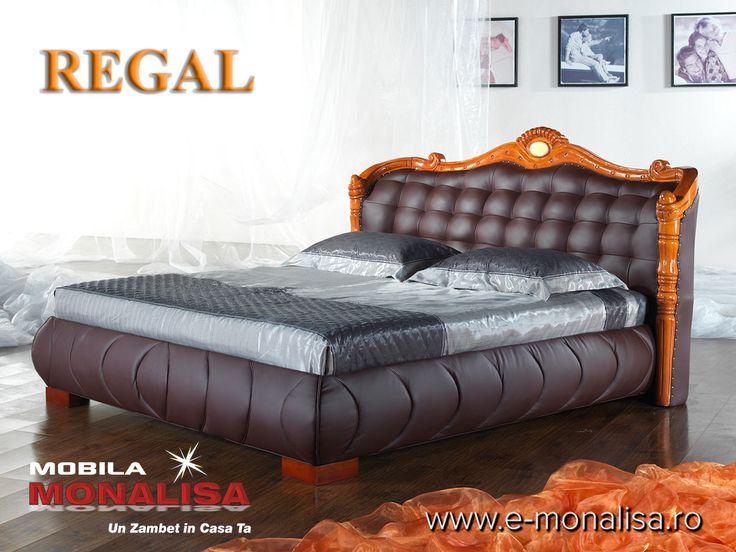 Pat de Lux dormitoare clasice Regal